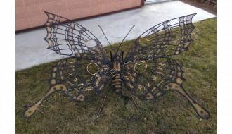 Садовая бабочка