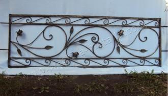 оградка с розами