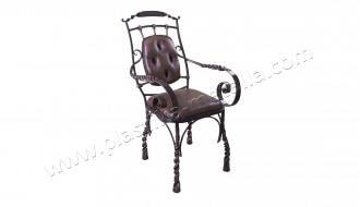 стул кованый