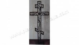 крест с растениями