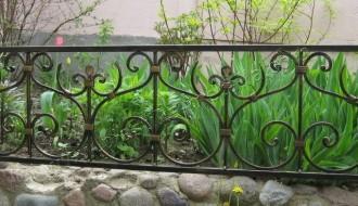 кованая оградка