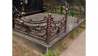 оградка кованая