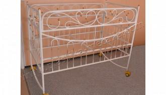 кроватка детская кованая