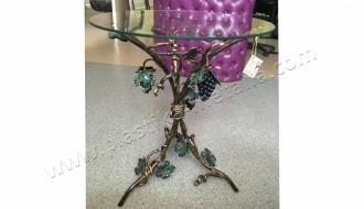 Стол кованый с виноградом