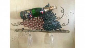 Держатель для бокалов и шампанского