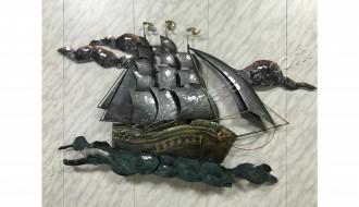 настенное панно корабль